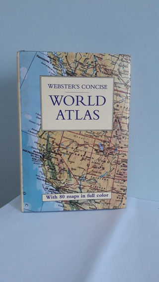 Atlas Concise World De Webster (com 80 Mapas A Cores)
