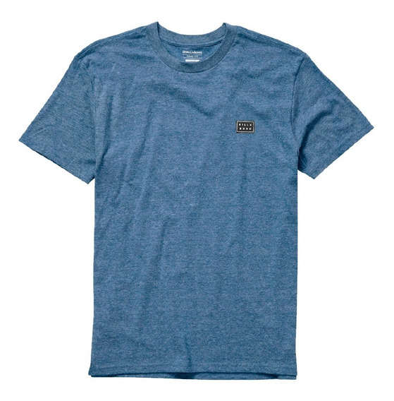 Remera Billabong All Day Tee Blue Hombre Mbremall