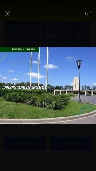Terreno Lote Barrió Haras Santa María Escobar