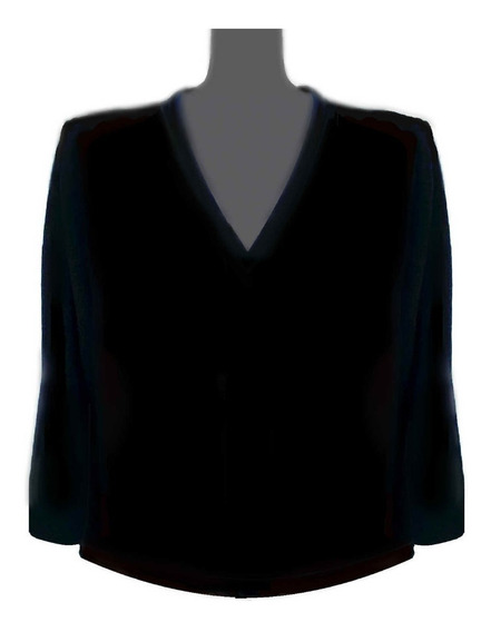 Sweater Mujer Lana Merino Sw Talle Grandes.