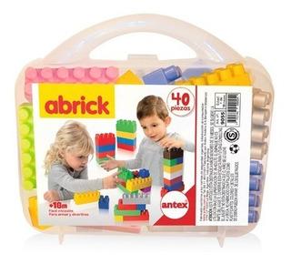 Valija De Bloques Abrick 40 Piezas Antex 9055