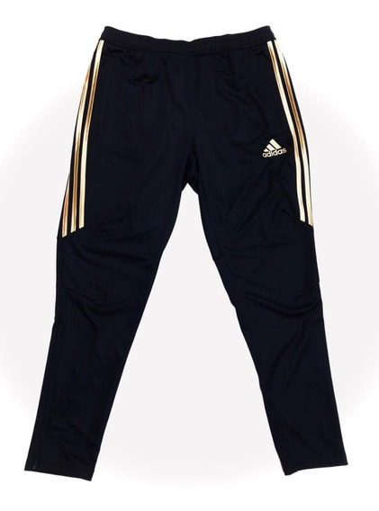 Pants Adidas Negro Con Dorado - Pants en Mercado Libre México