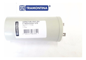 Capacitor 70uf / 250v Cortador De Grama Tramontina -original