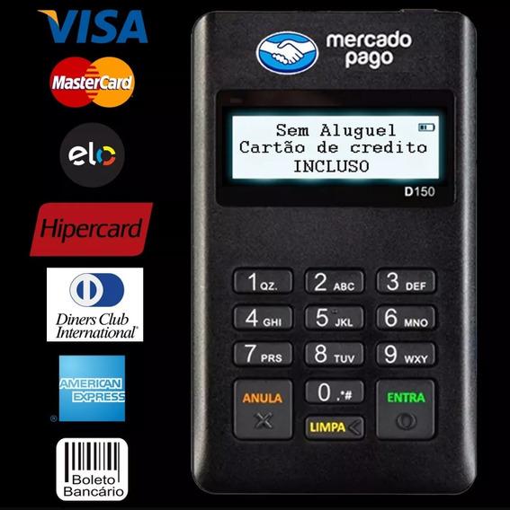 Maquineta Com Cartão Mercadopagopoint Mini D150 Frete Grátis