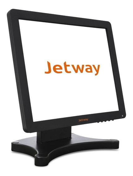 Monitor Jetway Touch Screen 15 Jmt-300 Usb Vga Fábrica Tanca