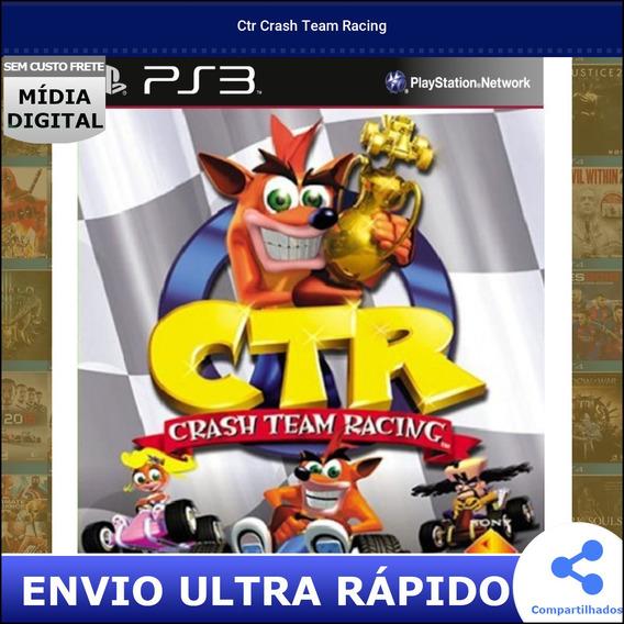 Ctr Crash Team Racing Midia Digital Envio Na Hora
