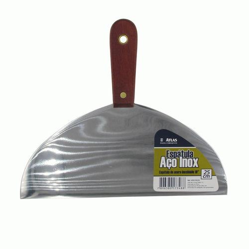 Espátula Acero Inoxidable Para Yeso 250mm Atlas At6155/24