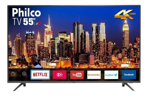 "Smart TV Philco PTV55F61SNT LED 4K 55"""