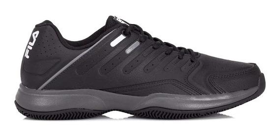 Zapatillas Tenis Fila Lugano 6.0 Negro/gris - Hombre