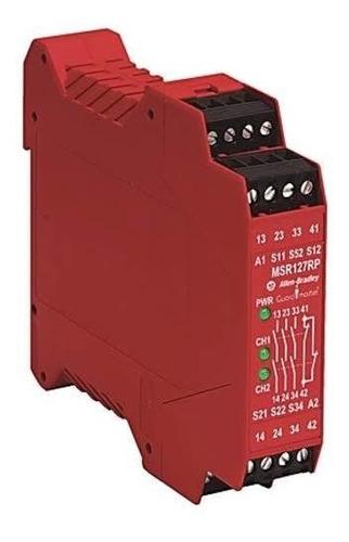 Imagen 1 de 5 de Allen Bradley 440r-n23132 Relevador De Seguridad
