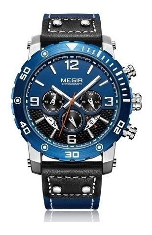 Relógio De Pulso Masculino Megir 2084 G