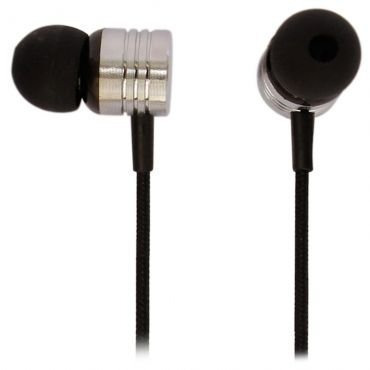 Earphone Com Mic Neon Black Max 6012197