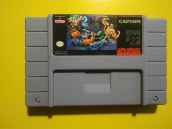 Final Fight 2 Super Nintendo Snes