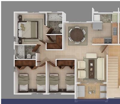 Alquiler Apartamento 11,000 Nuevo 3habitaciones 2banos 2parq