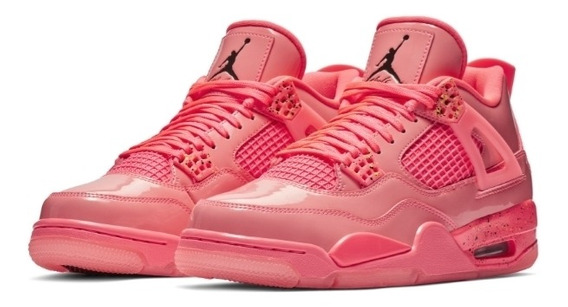 Nike Air Jordan Retro 4 Hot Punch Nuevas.
