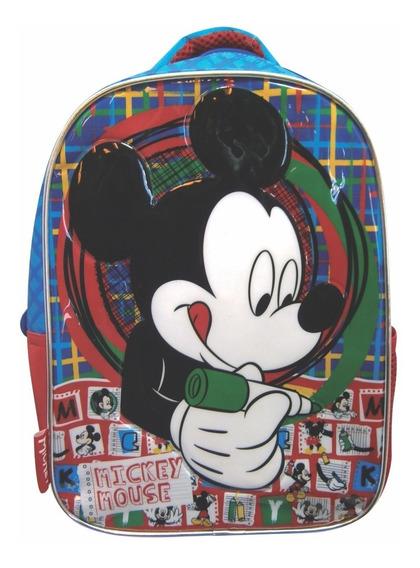 Mochila Espalda Jardin Disney Mickey Orig 2018 Mundo Manias