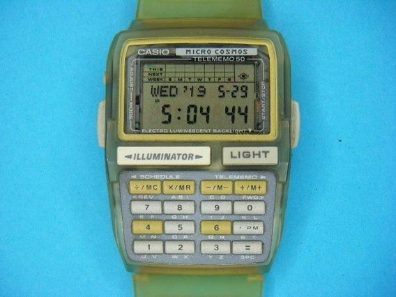 Relógio Casio Micro Cosmos Raríssimo