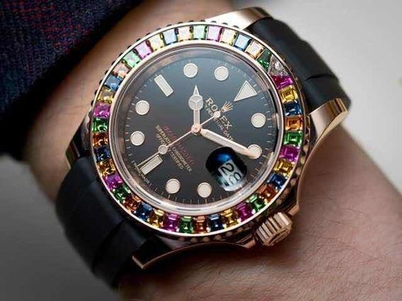 Relógio Rolex Cravejado