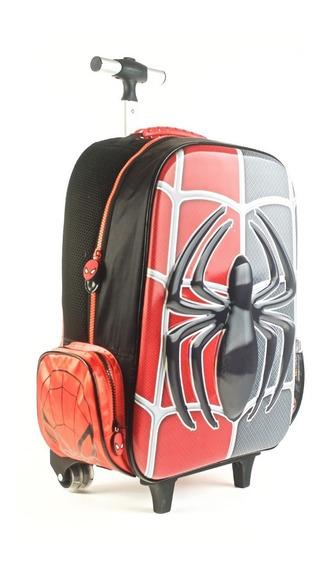 Mochila Carro Spiderman 17 P Wabro - Sharif Express 82664