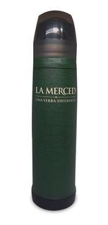 Termo La Merced Forrado En Cuero Verde (luminox Lumilagro)
