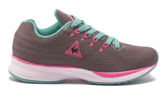 Zapatillas Niñas Le Coq Sportif Fierce Jr Dk Grey Pink