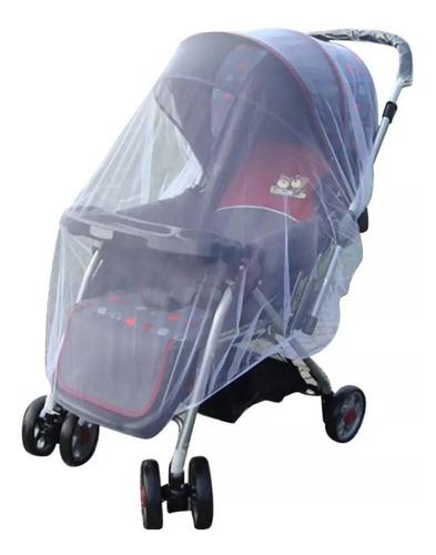 Imagem 1 de 5 de Mosquiteiro Tela Para Carrinho De Bebê Proteção De Insetos
