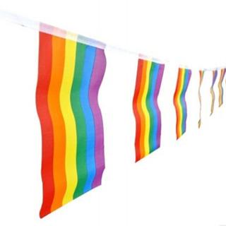 Banderas Gay 3x Guirnalda Orgullo