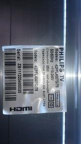 Barra De Led Tv Philips 42pfl4007g/78 Funcionando