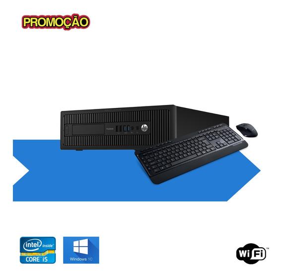 Pc Hp 600 G1 4gb Ram Ssd 120gb Windows 10 Mostruário Frete !