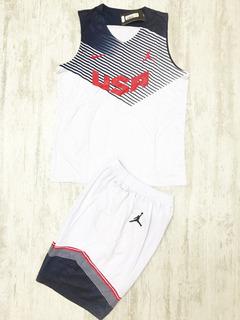 Uniforme Basketball Baloncesto Nba Usa Eeuu Dream Team