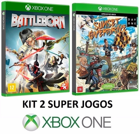 Battleborn + Sunset Overdrive - Midia Fisica - Xbox One