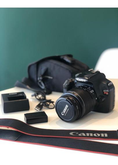 Câmera Canon Rebel T3 + Lente Canon 18-55mm