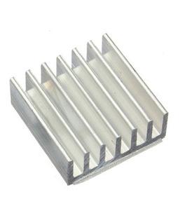 50 X Dissipador Calor Chipset A4988 Em Alumínio