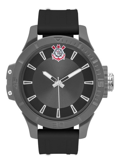 Relógio Technos Masculino Corinthians Cor2035mnl/8p Analogico