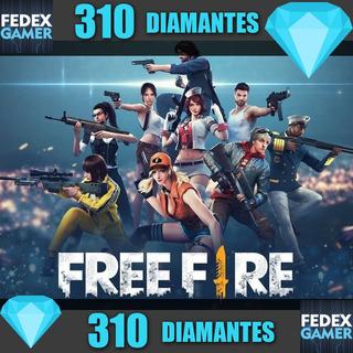 310 Diamantes Free Fire - Entrega Por Id - Fedexgamer