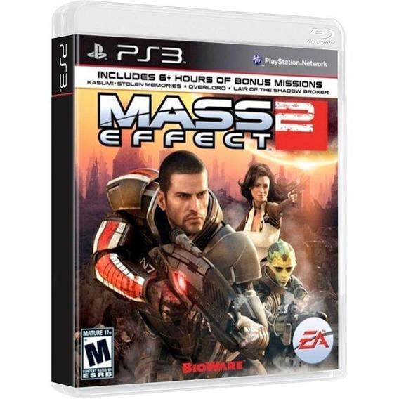 Mass Effect 2 - Jogo P/ Ps3 Original - Midia Fisica Lacrado
