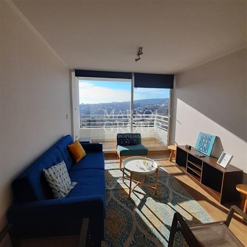 Imagen 1 de 10 de Departamento En Venta De 1 Dormitorio En Valparaíso