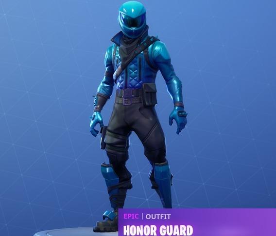 Skin Fortnite Honor Guard ( Unico Codigo )