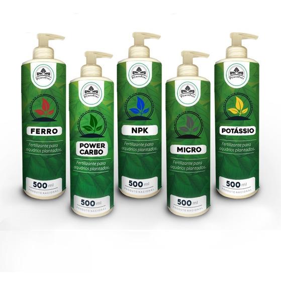 Fertilizante Liquido Aquário Plantado Powerfert Kit 500 Ml + Brinde