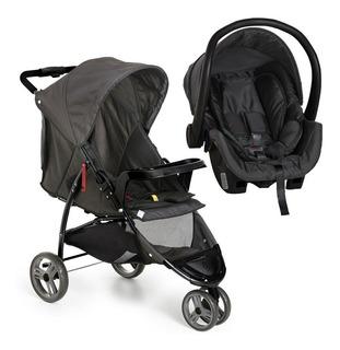 Carrinho Bebê Galzerano Cross 3 Rodas E Bebê Conforto