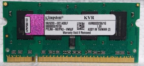 Kingston Kvr800d2s6/1g Memoria Ram De 1 Gb 800 Mhz