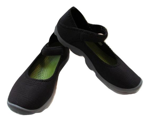 Crocs Mary Jane Nº34/35 = J3 Importadas Usa