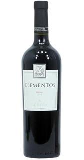 Vino Malbec Elementos X 750 Ml.