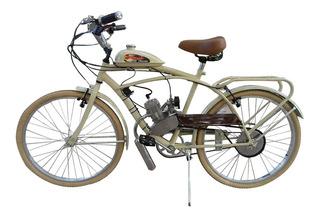 Bicimoto Vintage 0km, Motor 48cc Las Mas Hermosas!! Nuevas!