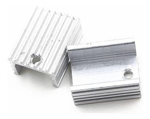 Dissipador De Calor Alumínio Parafusos To-220 Transistor