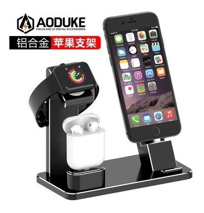 Suporte De Base Do Carregador Iwatch/iPhone/ai Sob Encomenda