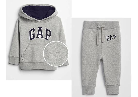 Conjunto Gap Sudadera Y Pantalon Gris Nuevo T 3 4 5
