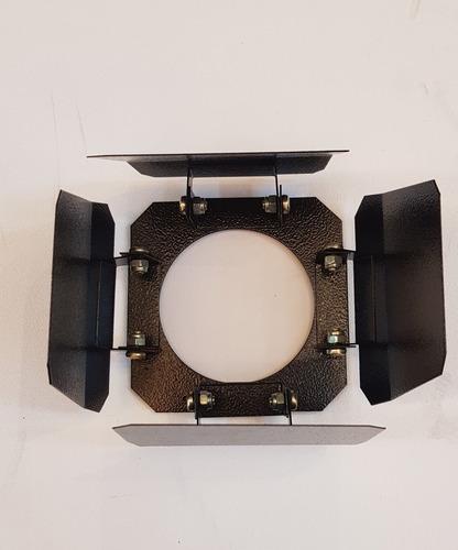Bandoor Para Spot Par 38 Canhão Refletor Preto My3020/pr