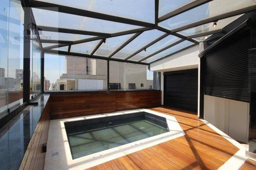 Imagem 1 de 30 de Cobertura, 314 M² - Venda Por R$ 4.850.000,00 Ou Aluguel Por R$ 20.000,00/mês - Moema - São Paulo/sp - Co0023