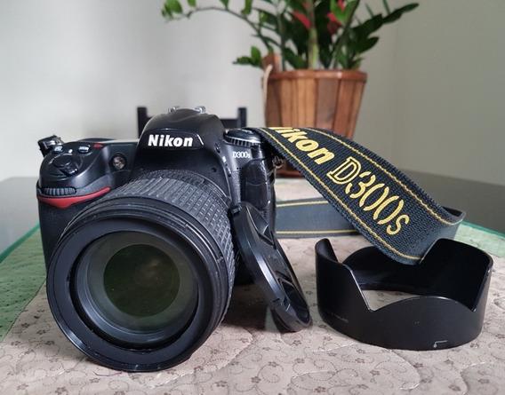 Câmera Nikon D300s + Lente 18-105mm + Bateria Extra + Brinde